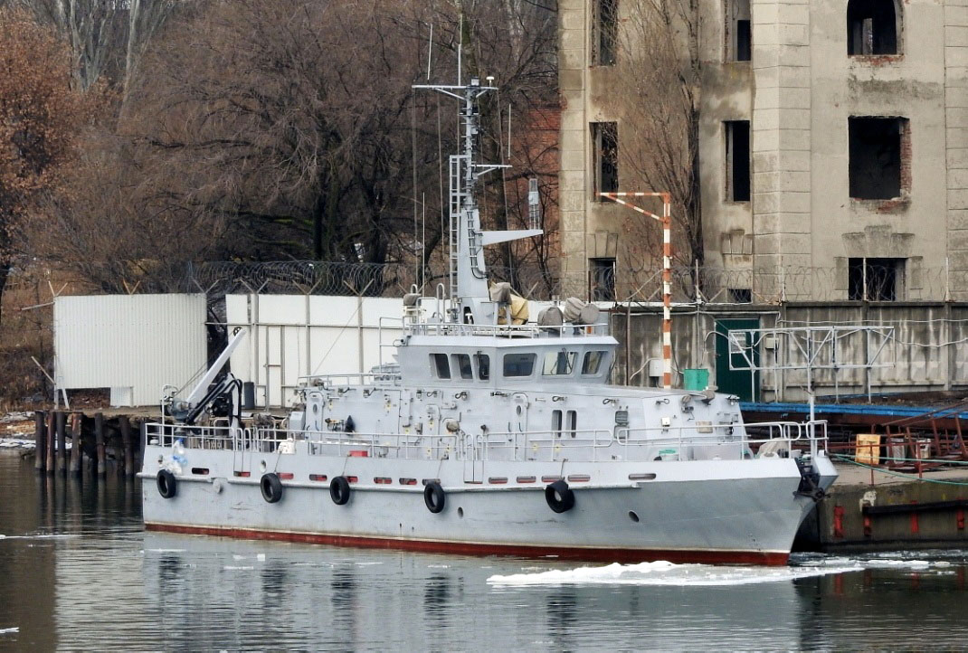 Водолазное судно проекта 14157