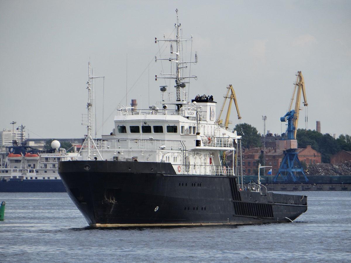 Малое гидрографическое судно Вайгач проект 19910